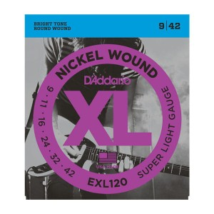 D'Addario Nickel Wound EXL