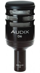 Audix D6 mikrofon do stopy.